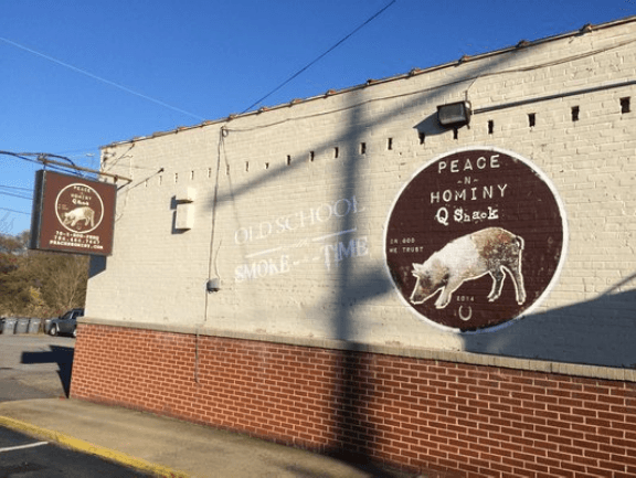Peace N' Hominy barbecue